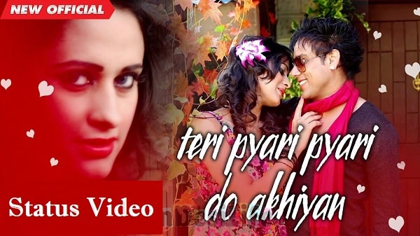 Teri Pyari Pyari Do Akhiyan Whatsapp Status Video Download 2020
