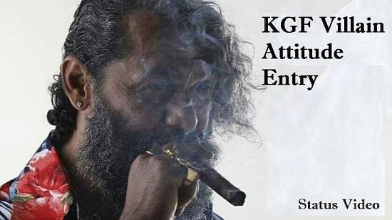 KGF Villan Entry Whatsapp Status Video Download – New 2020