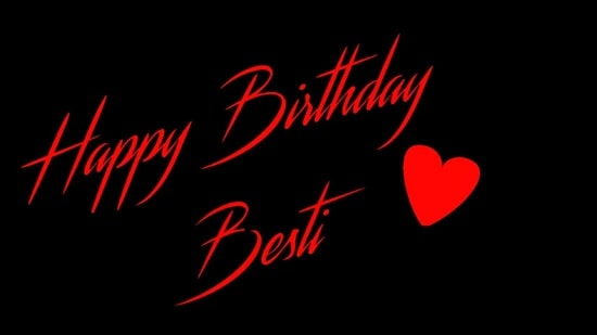 Happy Birthday Whatsapp Status Video Download For Besti