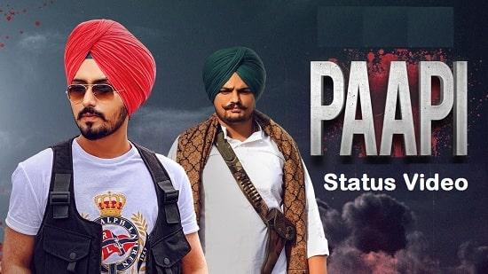 Paapi Song Whatsapp Status Video Download – Sidhu Moose Wala