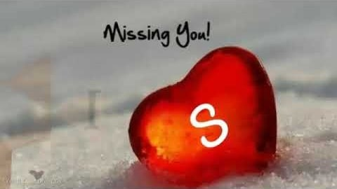 S Name Miss You Whatsapp Status Video Download – New 2020