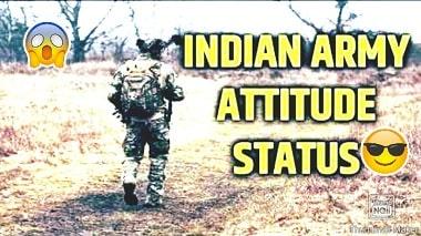 Indian Army Attitude Whatsapp Status Video Download