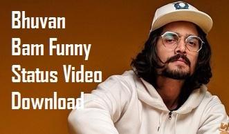 Bhuvan Bam Funny Whatsapp Status Video Download – BB Ki Vines